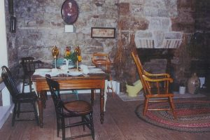 Chantry Island Light Keeper's Cottage - dining room