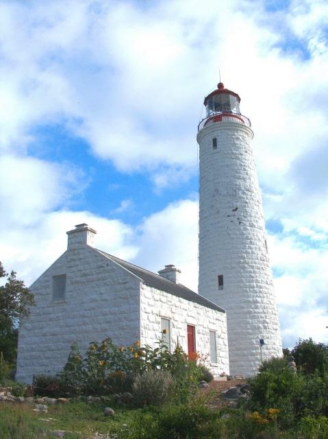 Light Keeper's Cottage & Grounds After Restoration