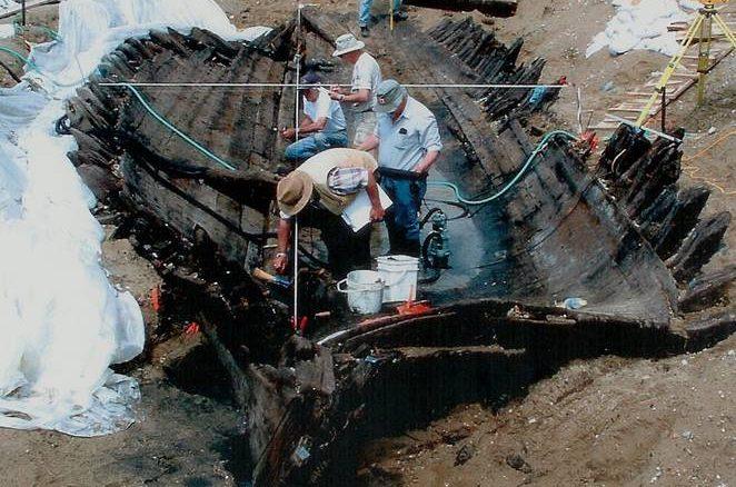 General Hunter Shipwreck, Southampton, ON - Excavation